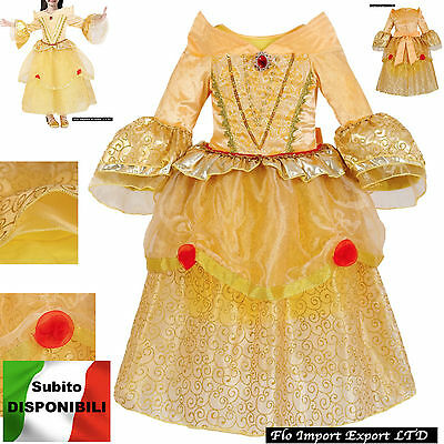 Bella Vestito Carnevale Maschera Belle Cosplay Girl Dress up BELLEZ01