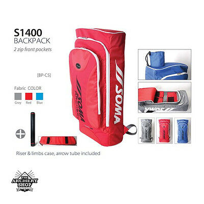 New Archery FIVICS Recurve Backpack (Bow case or Bow bag) S1400 (RED ONLY)