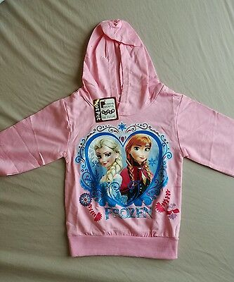 Frozen Pink Hoodie, new with tags, Size 2-3 years