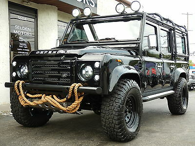 1987 Land Rover Defender  *** 1987 LAND ROVER DEFENDER 110 WAGON LHD * FULLY RESTORED ONLY 300 MILES SINCE