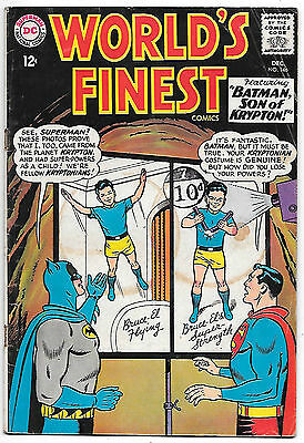 World's Finest #146 (1964, fn+ 6.5) guide value in this grade: $23.00 (£17.00)