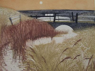 CHARLES BARTLETT RE (1921-2014) Pencil Signed LIMITED EDITION British Etching