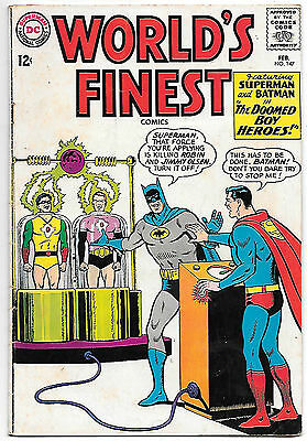 World's Finest #147 (1965, fn 6.0) guide value in this grade: $21.00 (£15.00)