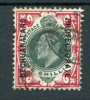 Bechuanaland Protectorate 1904-13 1s green and carmine SG71 used cat £140