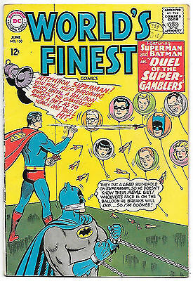 World's Finest #150 (1965, fn 6.0) guide value in this grade: $21.00 (£16.50)