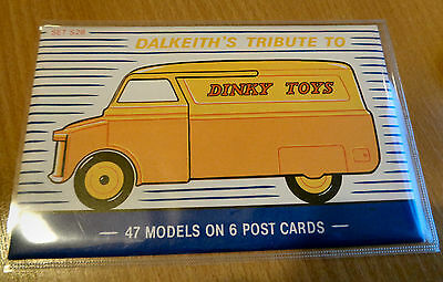 Dalkeith's Tribute To Dinky Toys postcards set S28