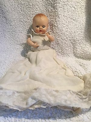 Rosebud Baby Doll 6in Suck-A-Thumb Original Clothes Vintage/Retro Hard Plastic