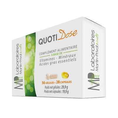 Quotidose - Vitamines Et Mineraux 56 Gel + 28 Cap