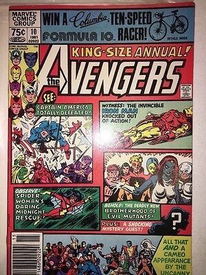 Avengers Annual 10 VFN - 1st Appearance of Rogue