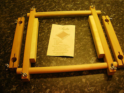 2 SIESTA FRAMES with NO SEW TAPESTRY FRAME ROLLERS