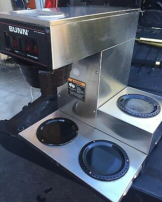 Bunn VP17- with 3 Lower Warmers, Pourover Coffee Brewer Maker Machine