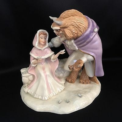 "Lenox ""Love's First Touch"" Disney Beauty and the Beast (Mint Condition)"