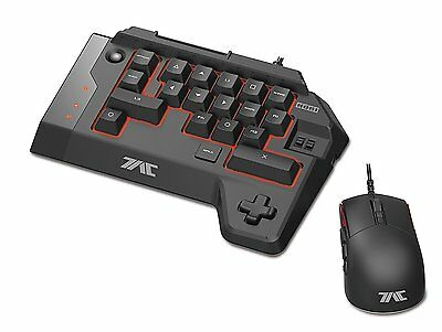 HORI TAC K1 K-1 Tactical Assault Commander Mouse & Keyboard Set for PS4 PS3 PC