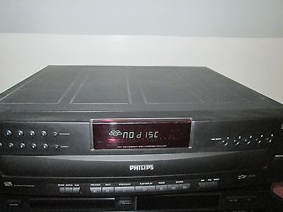 lecteur cd 5cd cdc 745 philips