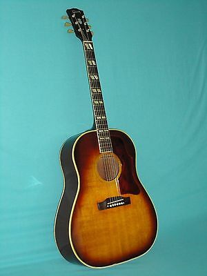 Vintage 1961 Gibson Southern Jumbo Acoustic Guitar