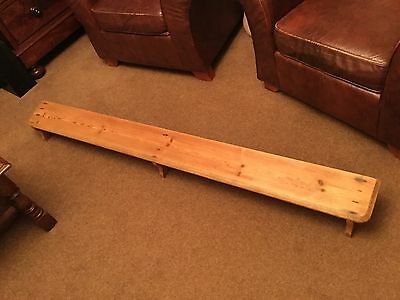 Antique Church Pine Kneeler
