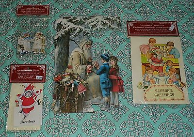 Lot Queen Holden Cucumber Kitty Victorian Style Christmas Cards 3D & Decoration