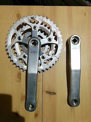 vintage White Industries MTB crankset 175mm 42-32-22T by Sugino