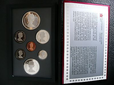 1986 Canada Double Dollar Proof Set - Royal Canadian Mint