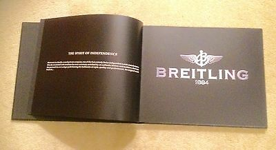 Hardback Stunning Book On Breitling -Depicting History & Essence Of Breitling