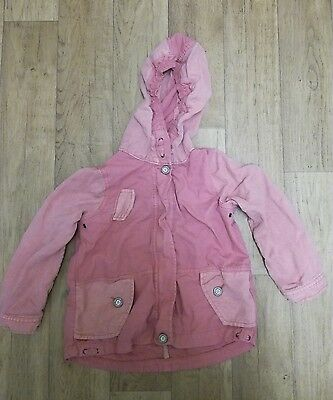 Girls Two Tone Pink Next Jacket Age 4-5 years