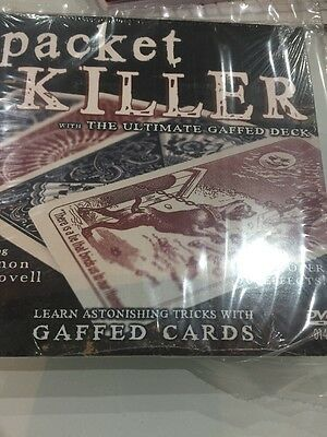 Packet Killer DVD - Includes Bicycle Gaff Deck - Magic Tricks - New