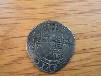 CHARLES 1st  1625-1649.  SILVER SIXPENCE.  1633/34.  NICE CONDITION.