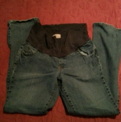 Old Navy Maternity Blue Jeans Pants Womens Size M