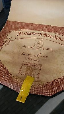 Pianola Roll Mastertouch The Murray Moon Fox Trot D382