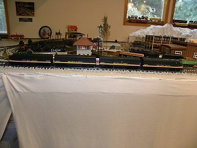 American Models Northern Pacific EMD FP-7 ABBA Custom Painted Freight set