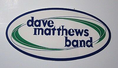 Dave Matthews Band Sticker mint dmb rock music rare collectible
