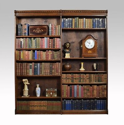 Victorian Oak Bookcase