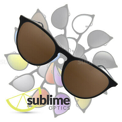 POLARIZED Dark Brown Replacement Lenses for  Ray Ban Erika RB4171  ~ Bronze