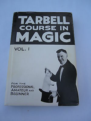 Harlan Tarbell Course in Magic Volume 1 Vintage Magicians Instruction Book!!