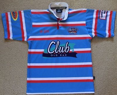 Old Bar Beach The Clams NSW RUFC Rugby Union Jersey Mens M VGC