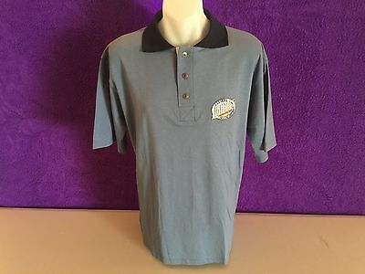 Fosters Light Ice Beer Embroidered Polo Shirt Made In Australia