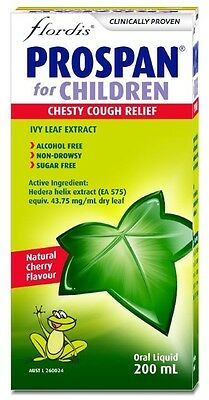 New Prospan for Children Kids Cough Syrup 200ml Chesty Cough Relief