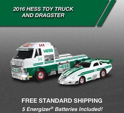 2016 Hess Truck and Dragster Toy