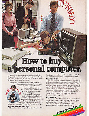 Original Print Ad-1979 HOW TO BUY A PERSONAL COMPUTER-APPLE PERSONAL COMPUTER
