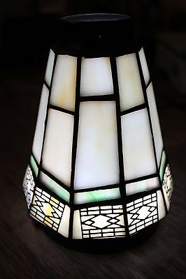 Stained Glass Tiffany Style Vtg.  Lamp Shades
