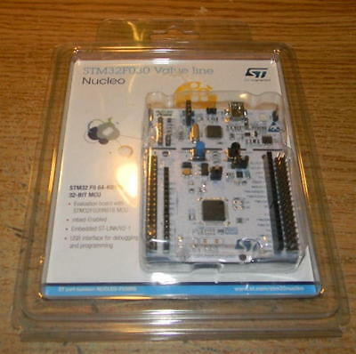 STM Nucleo STM32F030 ARM Dev board supports Arduino Shields