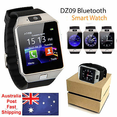 Universal Unlocked Bluetooth Smart Watch Wrist SIM Phone Camera For iOS Android