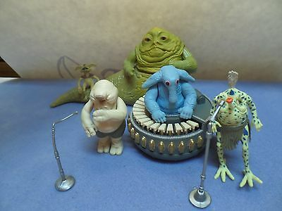 STAR WARS ~ ROTJ 1983 ~ Sy Snootles and the Max Rebo Band incl. Jabba and S.C.