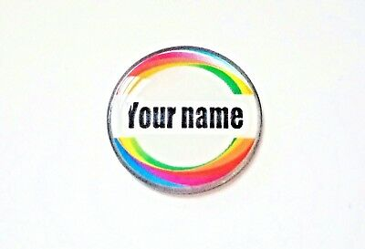 anneys ~ GOLF  BALL  MARKER - * your OWN PERSONALISED MARKER!! *  cb2