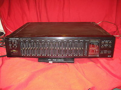 Vintage Onkyo Integra EQ-35 Audiophile 12-Band Graphic Stereo Equalizer
