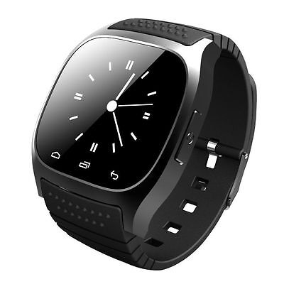 M26 Bluetooth Smart Watch Phone Mate Wristwatch for IOS Android Samsung iPhone