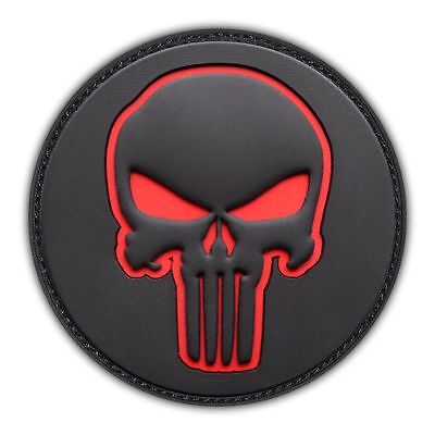 Punisher Skull Swat Ops Army Military Tactical Morale Badge Patch