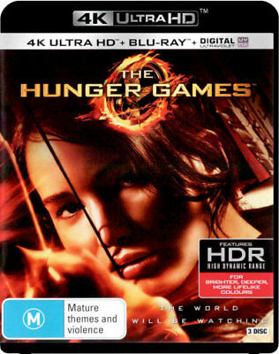 The Hunger Games UHD 4K Blu-ray Region B New!