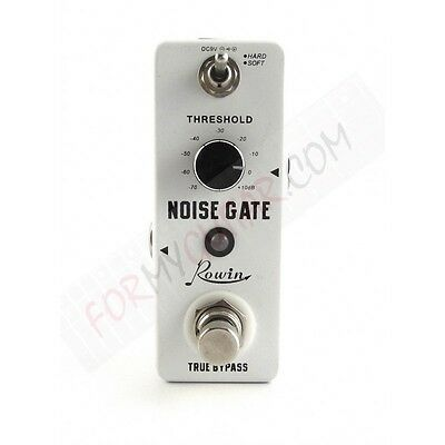 Pédale Noise Gate - Rowin LEF-319 - Noise suppressor - format mini-pedal