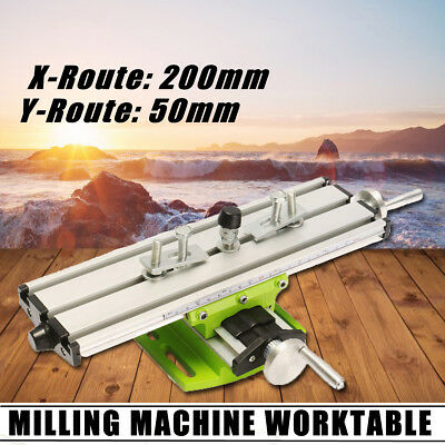 Milling Machine Vise Fixture Adjustment Multifunction Bench Drill Worktable